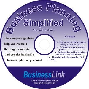 CD COVER business planning simplified