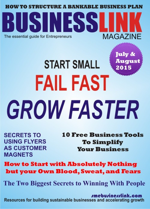 Magazine Cover AUGUST 2015.