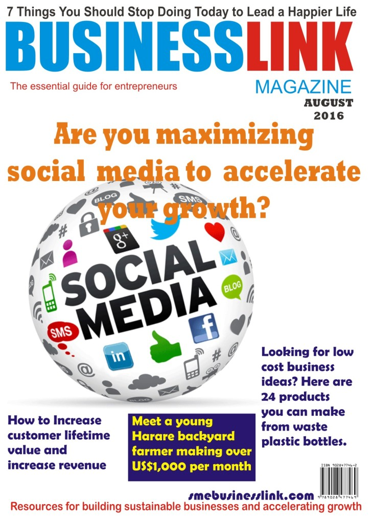 Magazine Cover AUGUST 2016