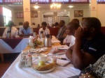 Participants at the networking breakfast meeting on 26 October, 2012