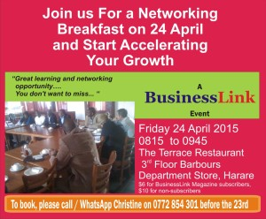 NETWORKING BREAKFAST 24 APRIL 2015