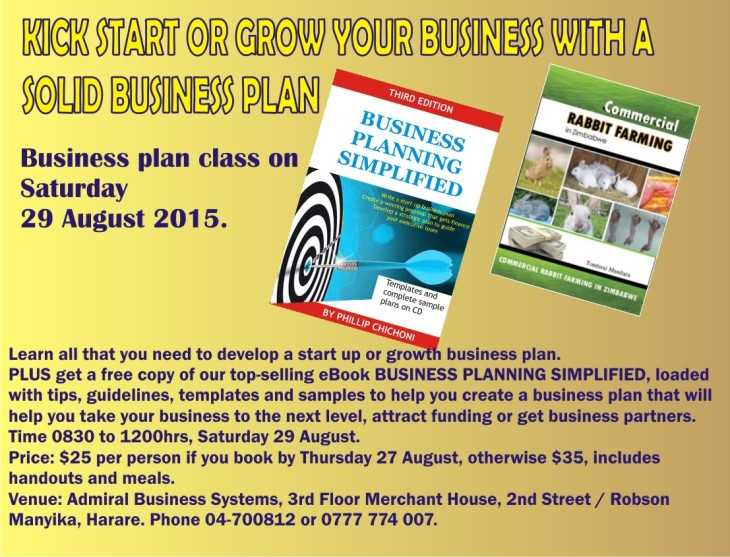 BUSINESS PLAN 29 AUGUST