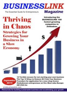 BusinessLink Magazine September 2014 cover1