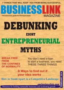 Magazine coverFEb 2015.
