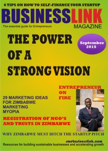 Magazine Cover SEPTEMBER 2015